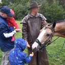 2018 Harvest Home with Father Kevin and horses photo album thumbnail 4